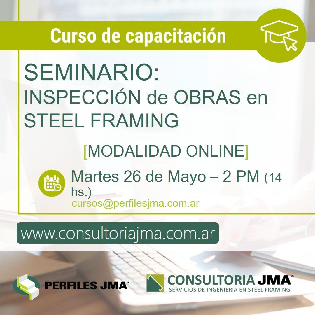 """CURSO DE INSPECCIÓN DE OBRAS EN """"STEEL FRAMING"""""""